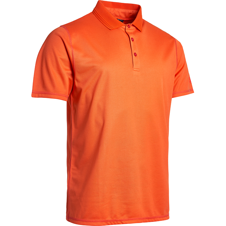 Jr Clark polo - orange i gruppen JUNIOR / Alla juniorkläder hos Abacus Sportswear (5114360)