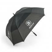 Square umbrella - svart